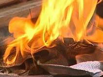 Combustibility of Linseed Oil